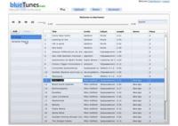 BlueTunes, nuevo reproductor de audio online