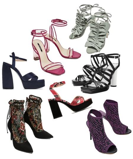 Zara Rebajas Zapatos Tacon