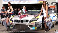 El BMW Z4 del Team Marc VDS