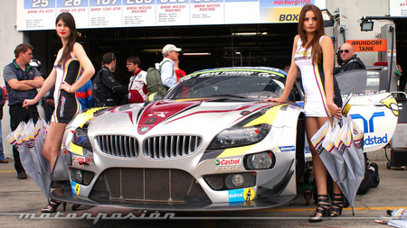 El BMW Z4 del Team Marc VDS