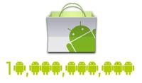 Android Market supera los 10,000 millones de descargas