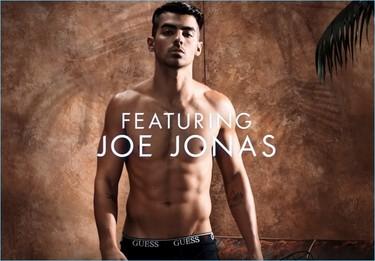 Joe Jonas en ropa interior para protagonizar la campaña underwear de Guess