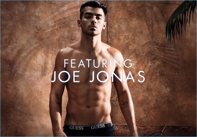 Joe Jonas 2017 Guess Underwear Campaign Video Stills 003