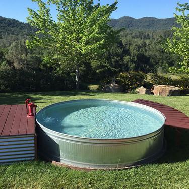 Adios piscina hinchable: las piscinas baratas, bonitas y que son tendencia son de acero galvanizado