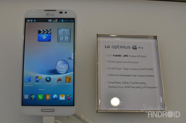 Foto de LG Optimus G Pro (1/13)