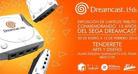 Se llevará a cabo en el DF una exposición tributo conmemorativa de los 15 años del Dreamcast