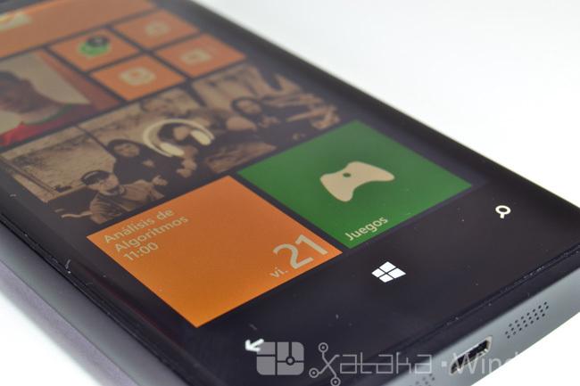 Pantalla del Lumia 920