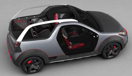 Renault Sand'up Concept, un Sandero para la playa