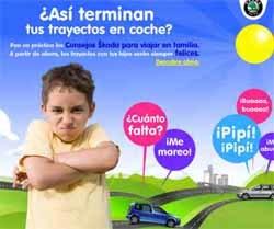 Consejos para viajar con niños de Skoda