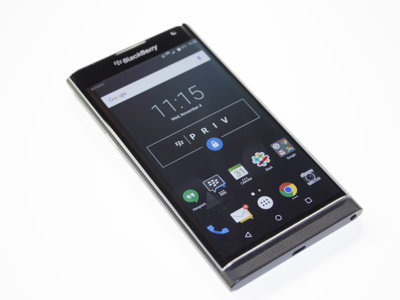 BlackBerry Priv es visto en video con Android Marshmallow