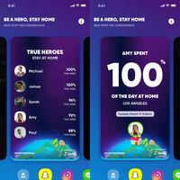Zenly, la app de Snapchat para ver donde están tus amigos, añade una lista de quién se queda más en casa