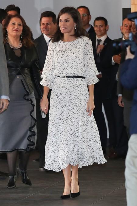 Reina Letizia Vestido Lunares