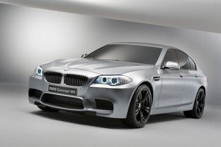 BMW Concept M5, galería y primeros datos oficiales