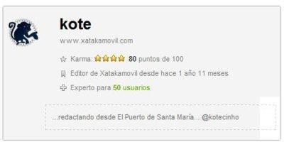 Las mejoras del sistema de karma en XatakaMóvil