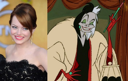 Emma Stone y Cruella De Vil