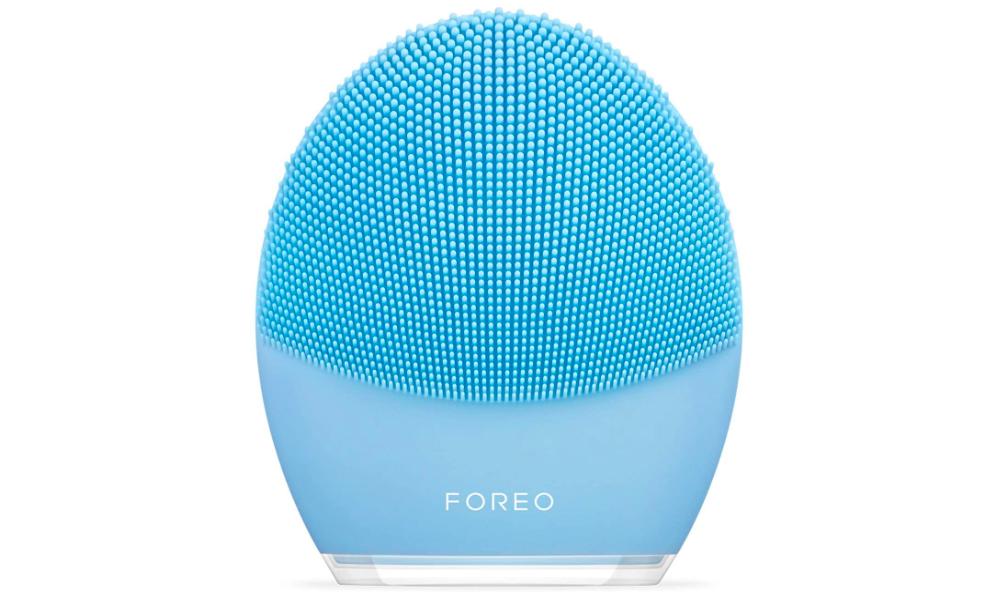 FOREO LUNA 3 - Cepillo de limpieza facial y masajeador reafirmante para un spa en casa, Combination Skin