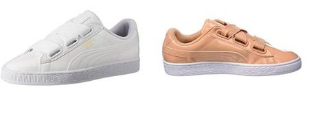Las zapatillas deportivas Puma Basket Heart Patent Wn's están disponibles desde 25,39 euros en Amazon