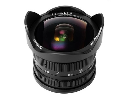 7Artisans 7.5 mm. f/2,8 para Sony E, Fujifilm X y sistema Micro Cuatro Tercios