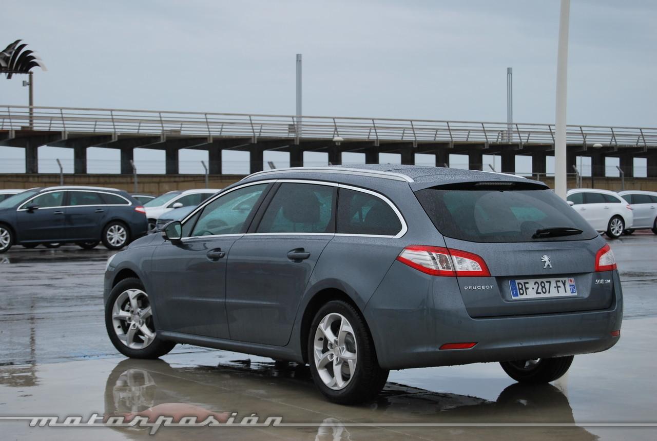 Foto de Peugeot 508 y 508 SW (presentación) (40/118)
