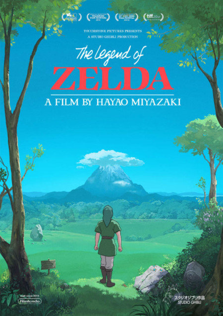 Zelda X Ghibli