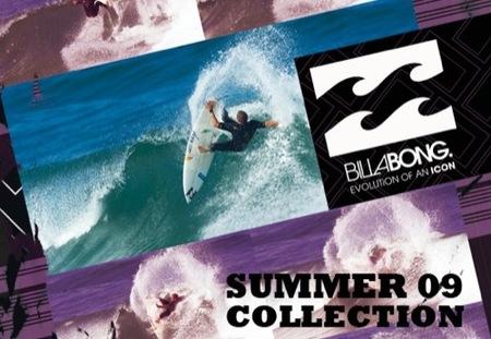 Billabong, colección Primavera-Verano 2009
