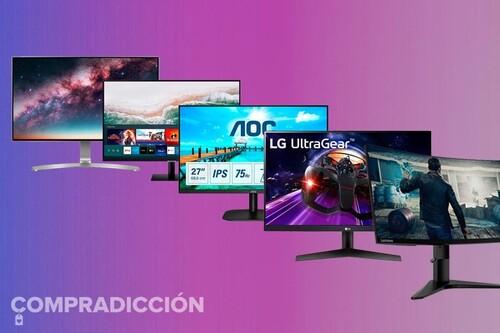 Aprovecha el último día de las ofertas de septiembre de Amazon para equiparte con uno de estos 15 monitores de PC AOC, BenQ,  al mejor precio