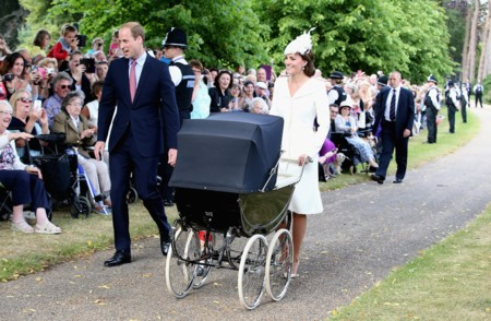 look Kate Middleton bautizo Charlotte