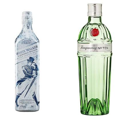 Dos ofertas del día Amazon en whisky Jonnhie Walker y ginebra Tanqueray, con edición limitada de Juego de Tronos