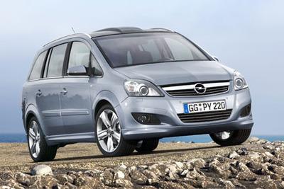 Opel presentará en Bolonia el nuevo Opel Zafira