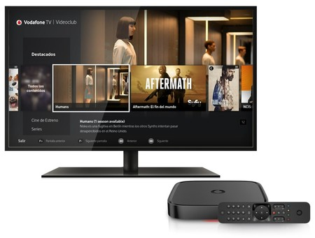 Nueva Vodafone Tv con Tivo, 4k y Plex