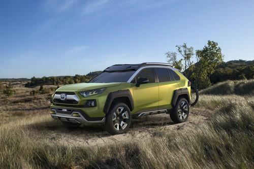 El Toyota FT-AC Concept es tu prototipo de aventura para campo, playa y montaña