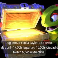 Streaming de Yooka-Laylee a las 17:00h (las 10:00h en Ciudad de México) [finalizado]