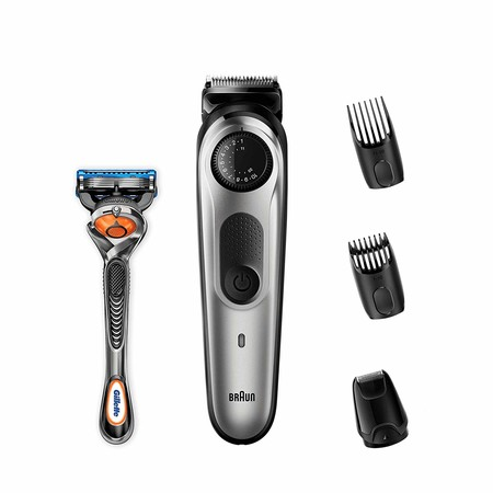 Por 41,43 euros tenemos la recortadora de barba Braun BT5065 rebajada en Amazon