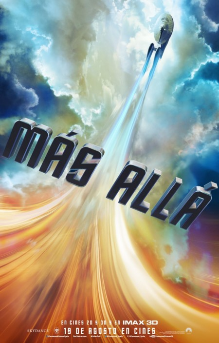 Teaser póster español de Star Trek: Más Allá