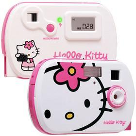 Cámara fotográfica de Hello Kitty