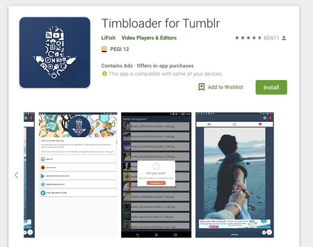 Window Y Timbloader For Tumblr Apps On Google Play