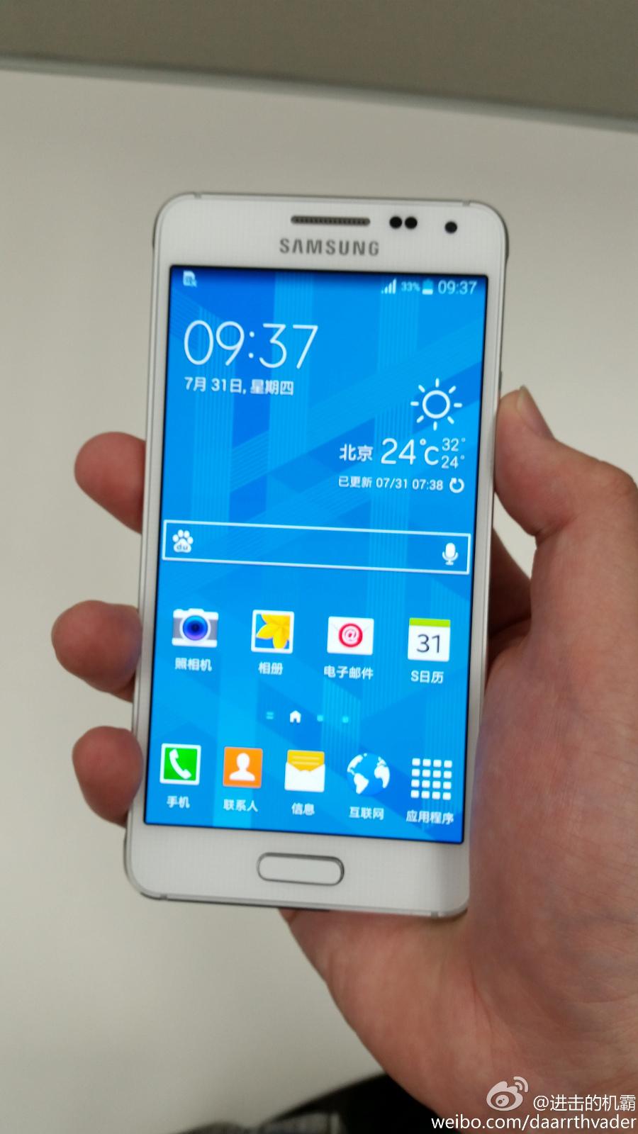 Foto de Samsung Galaxy Alpha blanco (5/8)