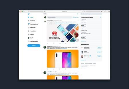 Twitter rediseña al completo su interfaz web con funciones que hasta ahora sólo estaban en las apps móviles y más personalización