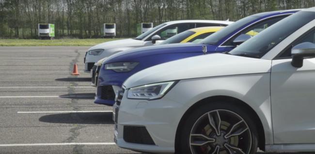 Drag Race Audi