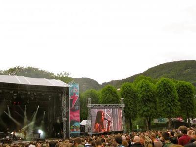 Bergenfest, un festival de música a la luz de medianoche en Noruega
