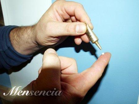 aplicar en la yema del dedo