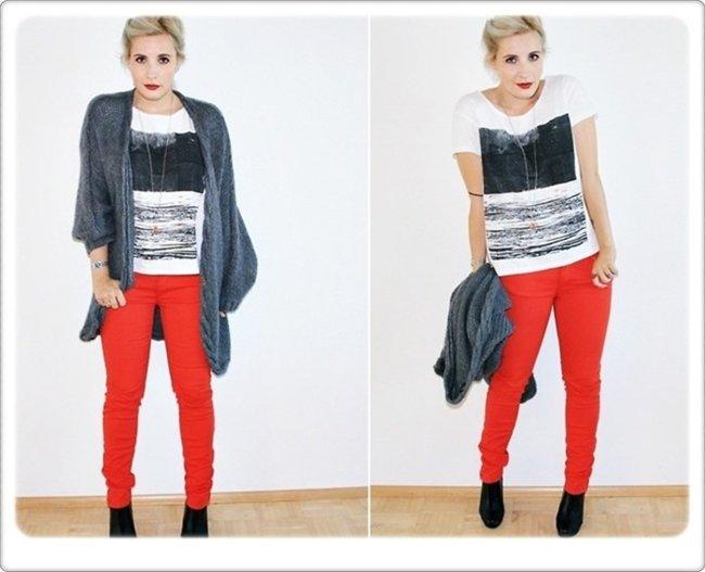 Pantalones rojos Konstan