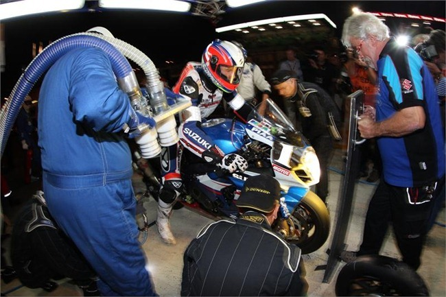 Suzuki Endurance Racing Team en Le Mans 2012