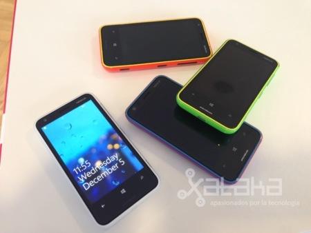 Nokia Lumia 620 previo