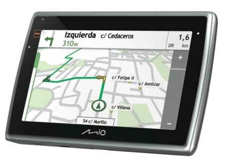 Mio Moov Spirit mejora el interfaz del GPS