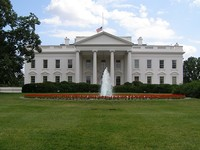 La pureza blanca de la cal de la Casa Blanca