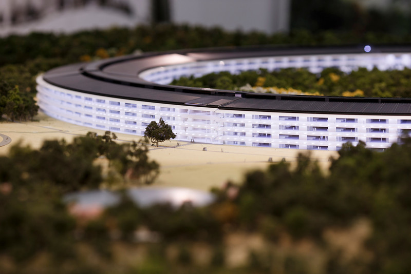 Foto de Maqueta del Campus 2 de Apple (20/22)