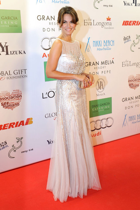 Fabiola Martinez en la Gala Global Gift