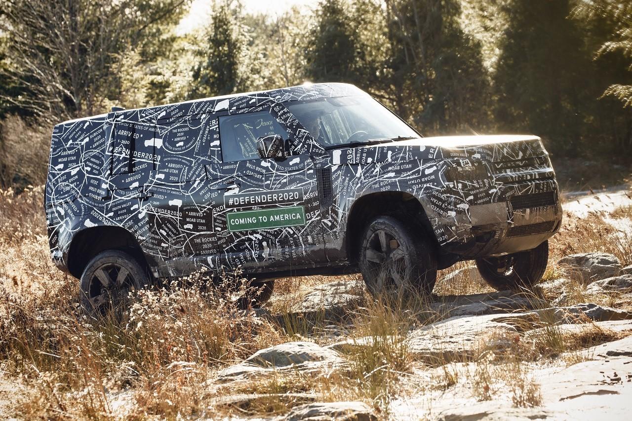Foto de Land Rover Defender 2020 primeras fotos oficiales (19/24)
