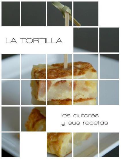 """Libro de recetas """"La tortilla"""""""
